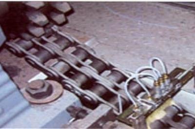 Smarowanie łańcuchów i przenośników